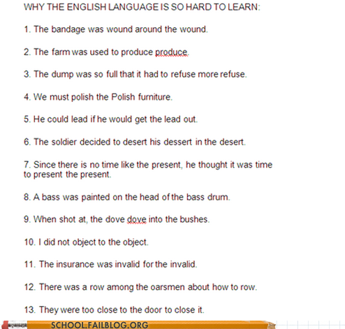 english home work